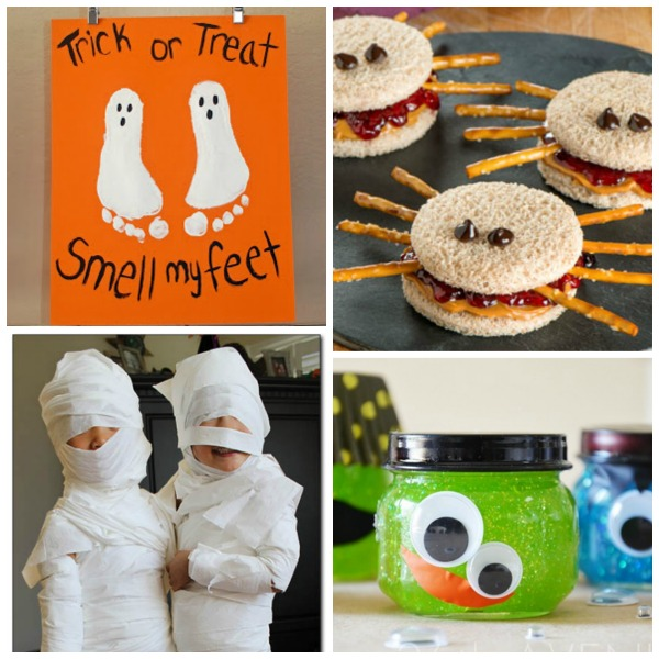 50 SUPER FUN HALLOWEEN ACTIVITIES FOR KIDS= games, crafts, recipes, and more!